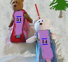 BobSled Teds by L J Fraser