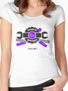 Mum's Garage Women's Fitted Scoop T-Shirt