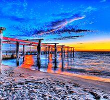 Port Melbourne Sunset by mauricegue