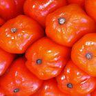 Cluster of Shiny Orange Berries by Marilyn Harris