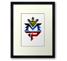 MP Logo, Manny Pacquiao Framed Print