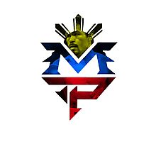 MP Logo, Manny Pacquiao Photographic Print