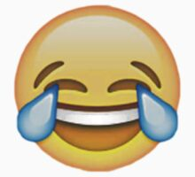 Crying laughing emoji by Chloe Hebert