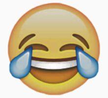 Crying laughing emoji by Chloe Hebert