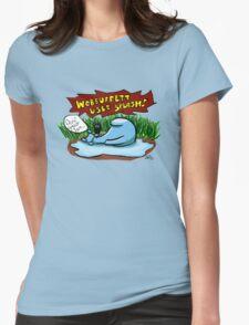 Wobbuffet Used Splash - Doin' Great Tom Womens Fitted T-Shirt