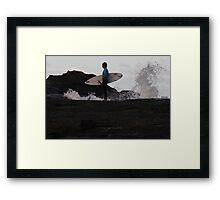 Werrie Slash- Waiting For His Heat Framed Print