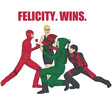 Felicity. Wins. by Becca C. Smith