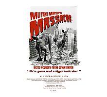 Mutant Marsupial Massacre Photographic Print