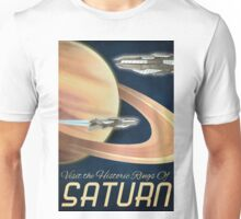 Visit the Historical Rings of Saturn Art Unisex T-Shirt