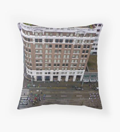 Saint Patrick's Day Parade Throw Pillow