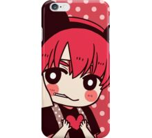 [FE:A] Strawberry/Black - Gaius iPhone Case/Skin