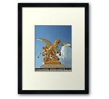 Fame Of The Arts Framed Print