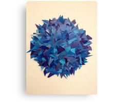 Blue. Canvas Print