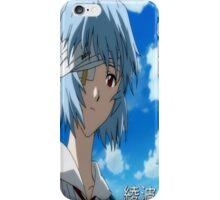 Rei Ayanami Shirt iPhone Case/Skin