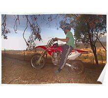 Bike Riding Poster