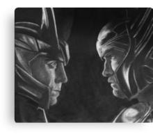 Jotunheim and Asgard Canvas Print