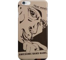 my band iPhone Case/Skin