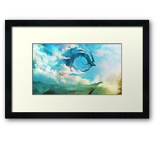 The Storm King Framed Print