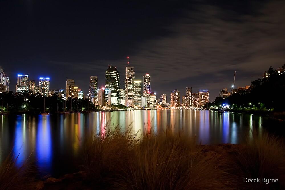 Brisbane City by D Byrne