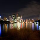 Brisbane City by D Byrne