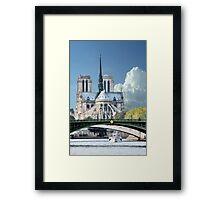 Cathedrale Notre Dame de Paris Framed Print