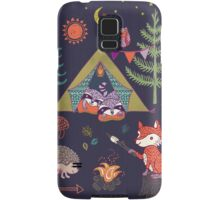 Woodland Animals Campout Samsung Galaxy Case/Skin