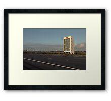 Hotel Nowhere Framed Print