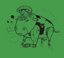 Robot Cow by Adew