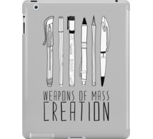 Weapons Of Mass Creation iPad Case/Skin