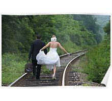 Wedding Steps Poster