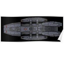 Battlestar Galactica reproduction Poster