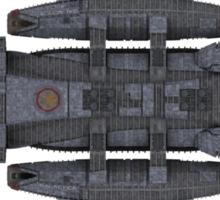 Battlestar Galactica reproduction Sticker