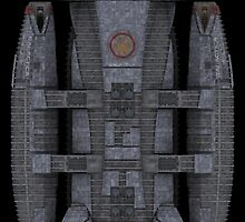 Battlestar Galactica reproduction [vertical] by boxsmasher