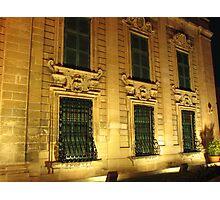 Auberge de Castille, Valletta, Malta Photographic Print