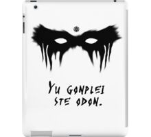 Your Fight Is Over (Trigedasleng) iPad Case/Skin
