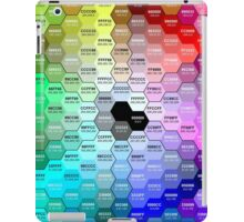Hex Color Chart iPad Case/Skin