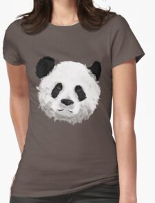 Giant Panda Womens Fitted T-Shirt