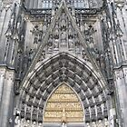 Entrance to the Köln Dom by Kate Harriman