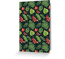 The Tropical Plant Greeting Card
