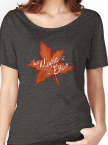 The Maple Effect- Logo 2 Women's Relaxed Fit T-Shirt