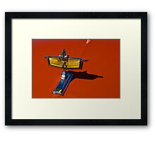 a crown for a king of the road Framed Print