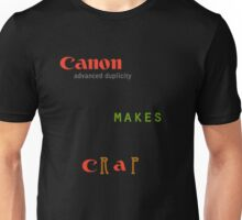 Canon Makes Crap T-Shirt