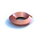 copper disc by Bill Crookston