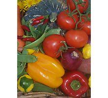 Garden Fare Photographic Print
