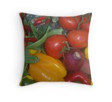 Garden Fare Throw Pillow