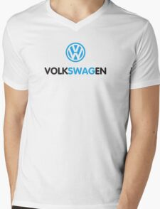 volkSWAGen Mens V-Neck T-Shirt