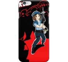 Resident Evil Jill vs Zombies iPhone Case/Skin