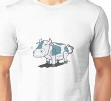 Graffiti Cow Unisex T-Shirt