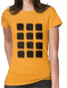 black box repeat Womens Fitted T-Shirt