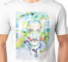 EINSTEIN - watercolor portrait Unisex T-Shirt